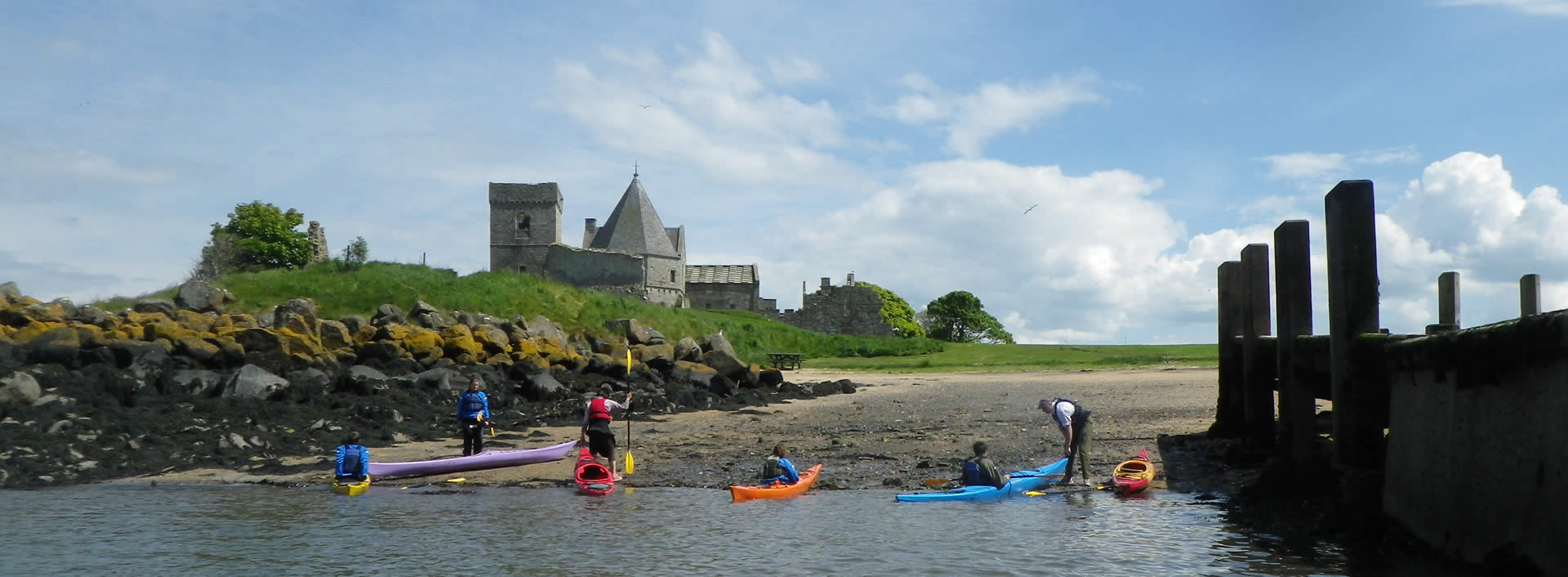 sea kayak inchcolm abbey
