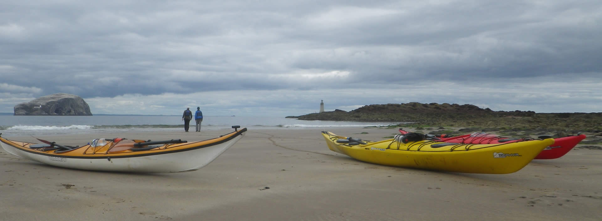 sea kayaking north berwick