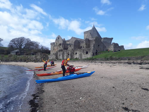 Historic Sea Kayak to Inchcolm Island